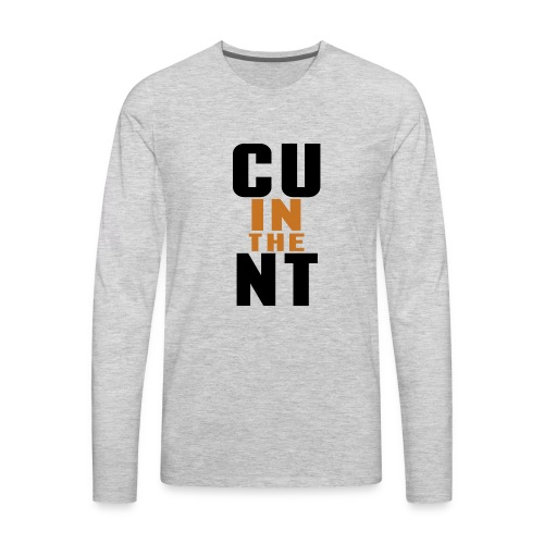 CU in the NT - Men's Premium Long Sleeve T-Shirt