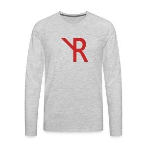YR Logo - Men's Premium Long Sleeve T-Shirt