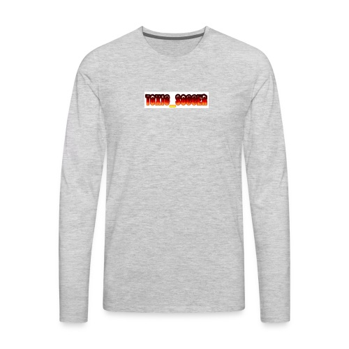 Toxic_Soccer - Men's Premium Long Sleeve T-Shirt