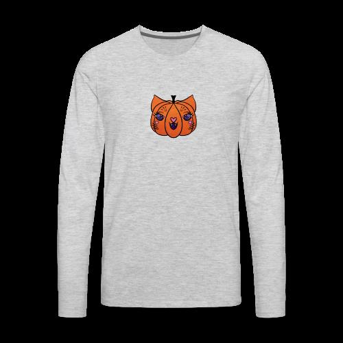 Happy Meowlloween! - Men's Premium Long Sleeve T-Shirt