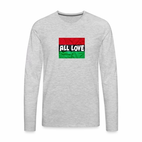 ALL LOVE - Men's Premium Long Sleeve T-Shirt