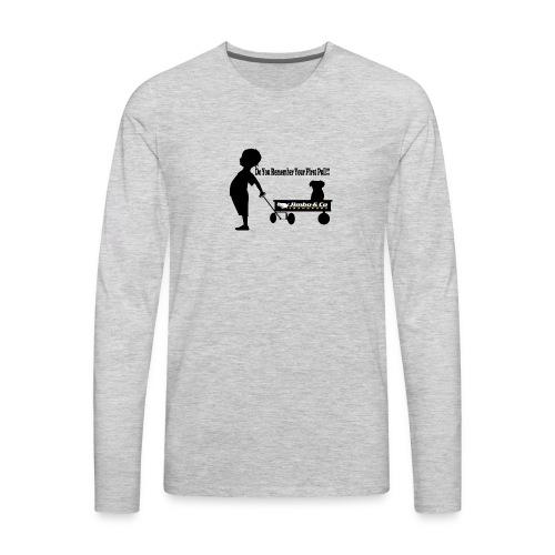 Kid Trailer - Men's Premium Long Sleeve T-Shirt