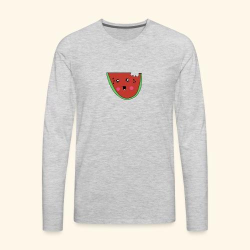 watermelon cutie - Men's Premium Long Sleeve T-Shirt