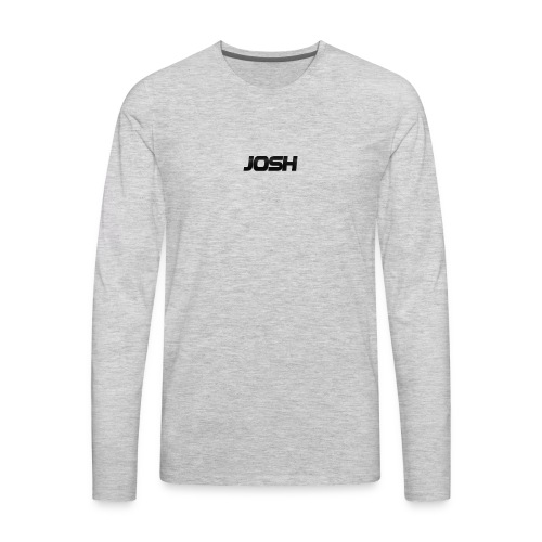 Josh phone case - Men's Premium Long Sleeve T-Shirt