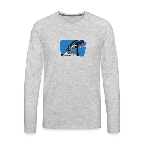 Schwebebahn,Wuppertal - Men's Premium Long Sleeve T-Shirt