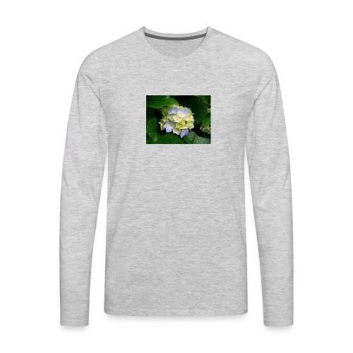its a flower shirt - Men's Premium Long Sleeve T-Shirt
