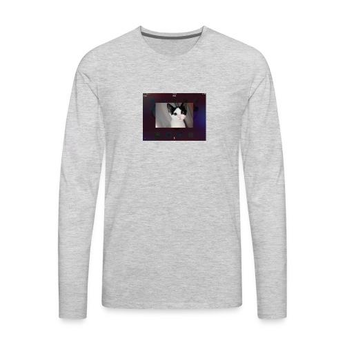 Tineey cat - Men's Premium Long Sleeve T-Shirt