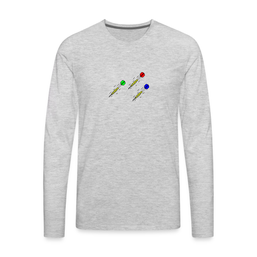 3 Darts - Men's Premium Long Sleeve T-Shirt