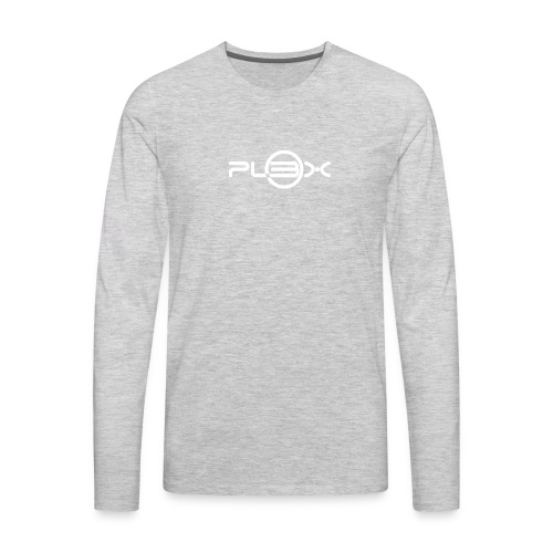 Pl3x White - Men's Premium Long Sleeve T-Shirt