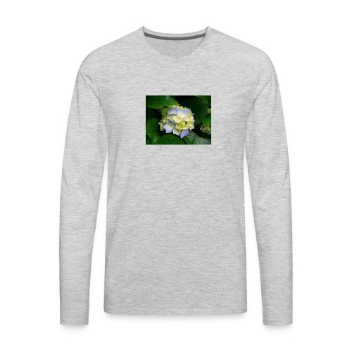 its a flower shirt - Men's Premium Long Sleeve T-Shirt
