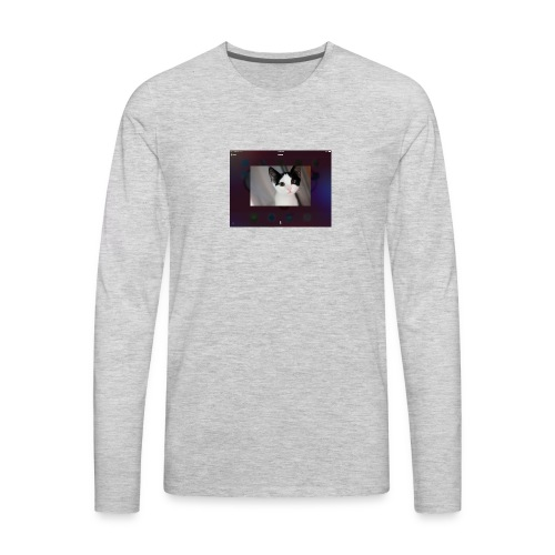 Tineey cat - Men's Premium Long Sleeve T-Shirt