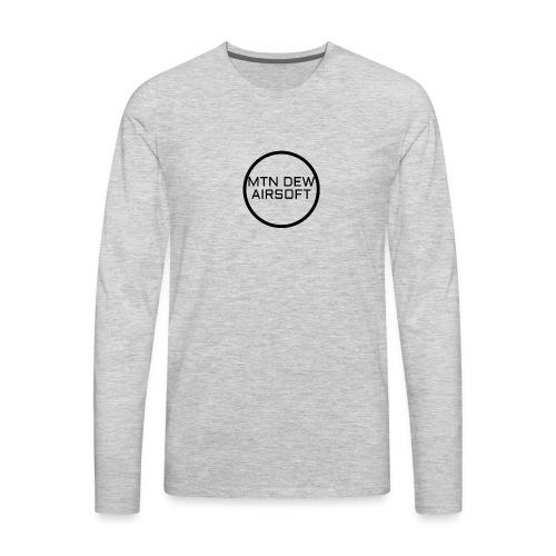 MTN DEW AIRSOFT MERCH - Men's Premium Long Sleeve T-Shirt
