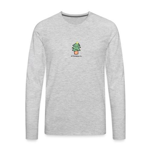 Christmas Logo - Men's Premium Long Sleeve T-Shirt