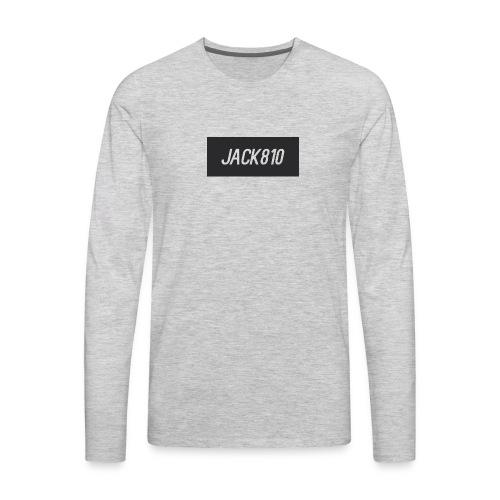Jack810 logo - Men's Premium Long Sleeve T-Shirt