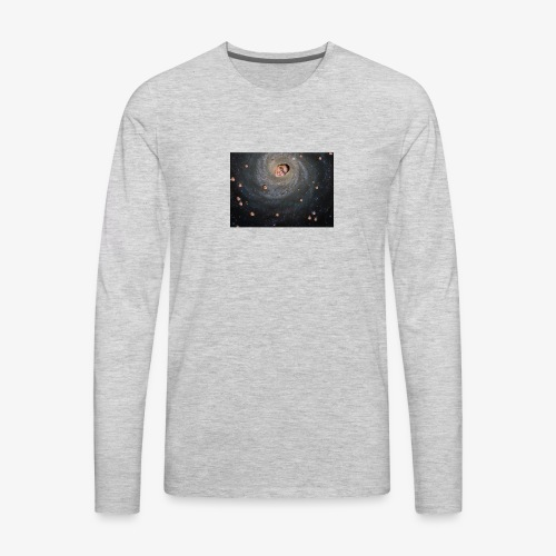 Space Michael - Men's Premium Long Sleeve T-Shirt