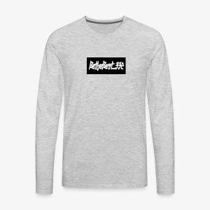 Bethebest332 logo - Men's Premium Long Sleeve T-Shirt
