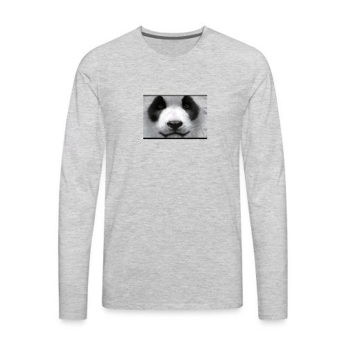 Pandaaaaaaaaaaaaaaaaaa - Men's Premium Long Sleeve T-Shirt