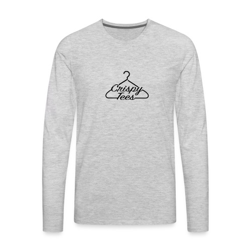 CT Logo Clear - Men's Premium Long Sleeve T-Shirt