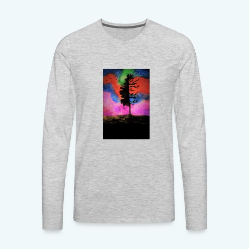 colorful_tree - Men's Premium Long Sleeve T-Shirt