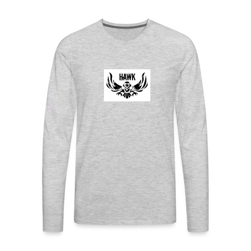 HAWK - Men's Premium Long Sleeve T-Shirt