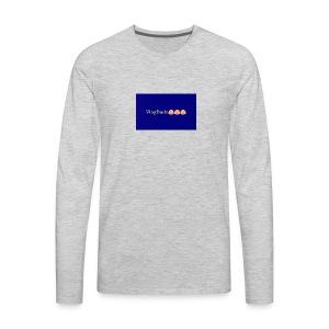 Pixlr vlogdude - Men's Premium Long Sleeve T-Shirt