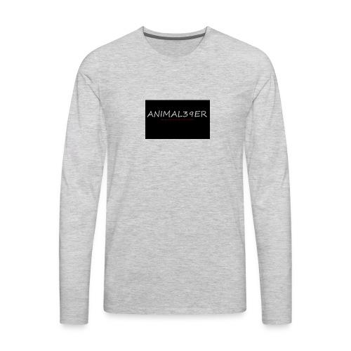 Animal39er with link - Men's Premium Long Sleeve T-Shirt