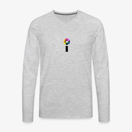 iBrick i logo - Men's Premium Long Sleeve T-Shirt