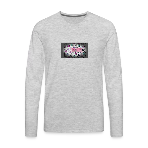 Pink Coffee Logo #1 - Men's Premium Long Sleeve T-Shirt