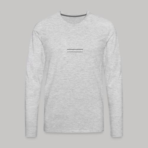 spAse LOGO - Men's Premium Long Sleeve T-Shirt