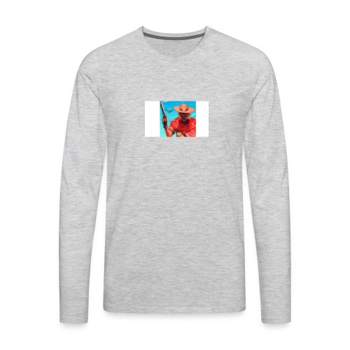 Nuero profile pic - Men's Premium Long Sleeve T-Shirt