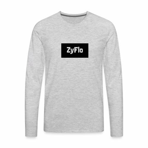 Men's ZyFlo Hoodie - Men's Premium Long Sleeve T-Shirt