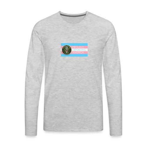 Transgender Army - Men's Premium Long Sleeve T-Shirt