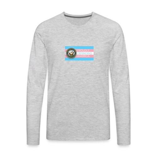 Transgender Navy - Men's Premium Long Sleeve T-Shirt