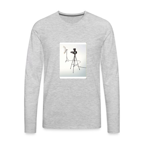 Camera 🎥 - Men's Premium Long Sleeve T-Shirt