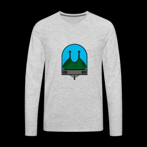 Stay Weird Alien - Men's Premium Long Sleeve T-Shirt