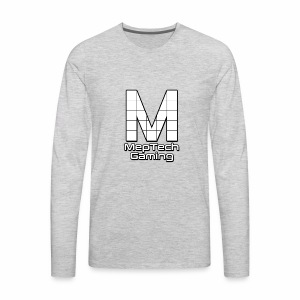 MepTech Logo - Men's Premium Long Sleeve T-Shirt