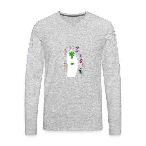Holy Reptile Priest - Men's Premium Long Sleeve T-Shirt