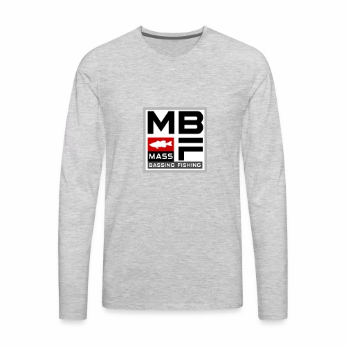 Mass Bassing Fishing - Men's Premium Long Sleeve T-Shirt