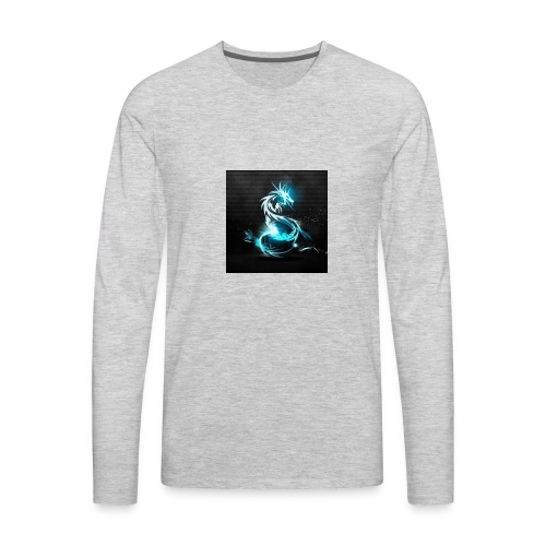 CrazyPlayz Official T-Shirt - Men's Premium Long Sleeve T-Shirt