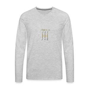 JWM and Co Shift Knob - Golden Standard - Men's Premium Long Sleeve T-Shirt