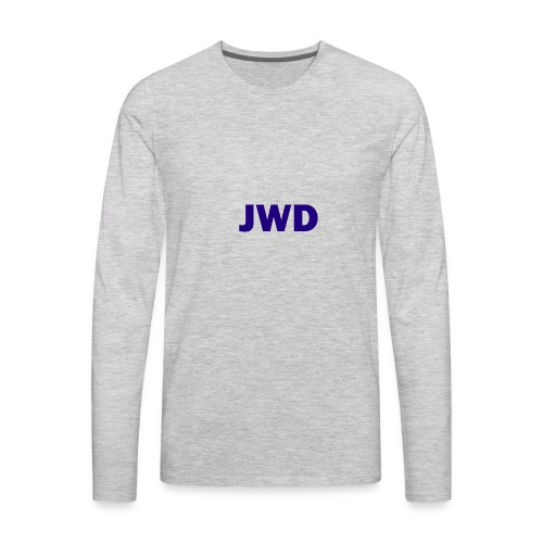 JevWD Merch - Men's Premium Long Sleeve T-Shirt