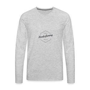 NordicGaming T-shirt - Men's Premium Long Sleeve T-Shirt