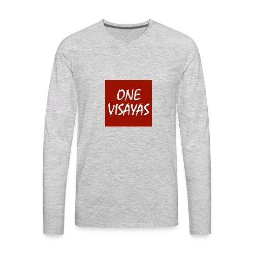 ONEVisayas Logo - Men's Premium Long Sleeve T-Shirt