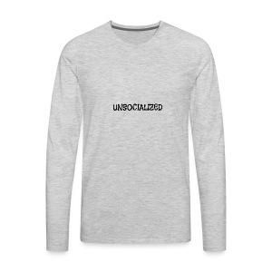 Unsocialized - Men's Premium Long Sleeve T-Shirt