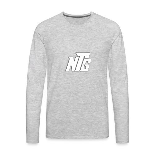 NTG Logo - Men's Premium Long Sleeve T-Shirt