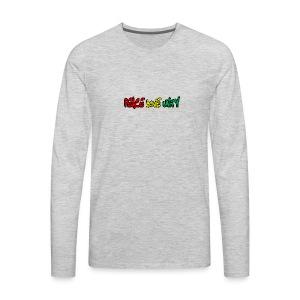 Peace Love Unity - Men's Premium Long Sleeve T-Shirt
