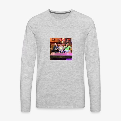 The Crew behind Plan of Attack Productions - Men's Premium Long Sleeve T-Shirt