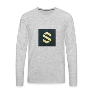 shirt online logo - Men's Premium Long Sleeve T-Shirt