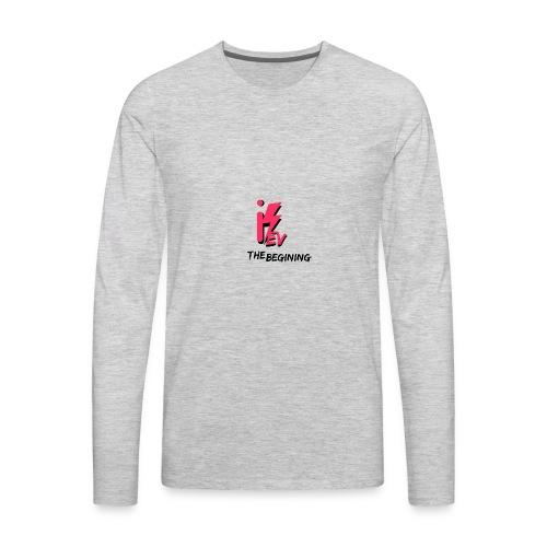 iKev: The Beginning - Men's Premium Long Sleeve T-Shirt