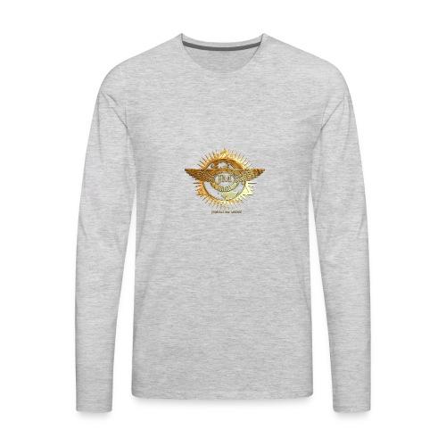 Jerusalem Music Logo - Men's Premium Long Sleeve T-Shirt